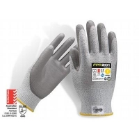 Force360 FPR201 Titanium Cut 5 PU Glove - Click for more info