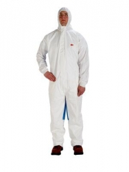 3M 4535 Coverall Type 5/6 White/Blue - Click for more info
