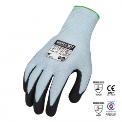Force360 Worx Cut Resistant Sand Nitrile Glove - Click for more info