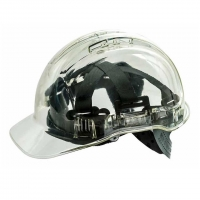 Force 360 Clearview Hard Hat Clear - Click for more info