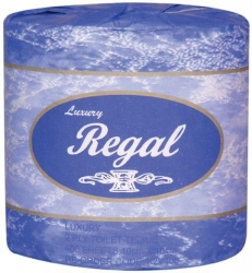 Regal Luxury Toilet Roll 2 Ply 400 Sheet (48 Rolls) - Click for more info