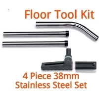 38mm Stainless Steel Floor Head And Wand Kit - Click for more info
