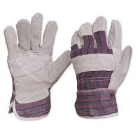 Candy Stripe Leather Glove - Click for more info