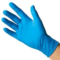 Nitrile Blue Lightly Powdered - Click for more info