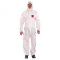 Microguard 1500 Plus Fire Retardant Coveralls White 2XL - Click for more info