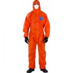 Microgard 1500Plus Type 5/6 Orange Coveralls - Click for more info