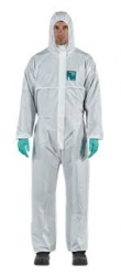 Microgard 1800 Type 5/6 White Coverall - Click for more info
