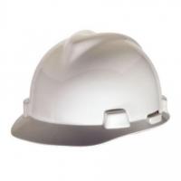 MSA V-Gard Elite Hard Hat White - Click for more info