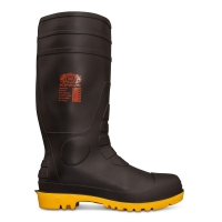 Oliver 10100 black waterproof safety gumboot - Click for more info