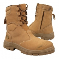 OLIVER OL55385 - High Leg Zip Sided Safety Boot - Click for more info