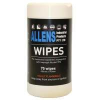 Allens Alcohol Wipes 75 Wipes - Click for more info