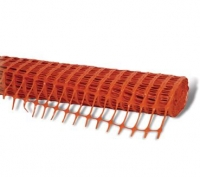 Extruded Barrier Fence Orange 50m - Click for more info