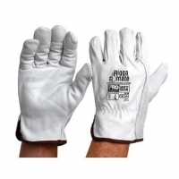 Riggamate Cow Grain Natural Leather Glove - Click for more info