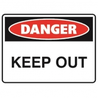 Danger Keep Out Sign - Click for more info
