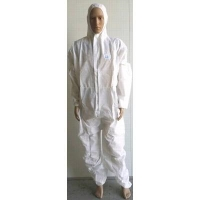 Allens Type 5 Type 6 Coverall White - Click for more info