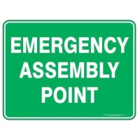 Emergency Assembly Point Sign - Click for more info