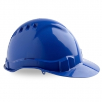 Vented Hard Hat Blue - Click for more info