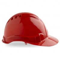 Vented Hard Hat Red - Click for more info