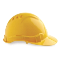 Vented Hard Hat Yellow - Click for more info