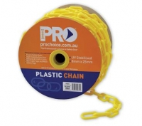 Safety Chain Yellow - Click for more info