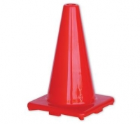 Orange Hi-Vis Traffic Cone 450mm - Click for more info