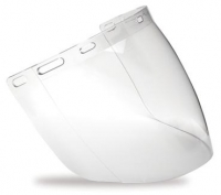 Pro Choice Clear Polycarbonate Visor - Click for more info