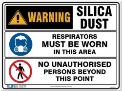 Multi Condition Silica Sign 600 x 450 Poly - Click for more info