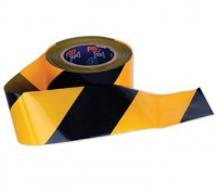 Barricade Tape Yellow/Black - Click for more info