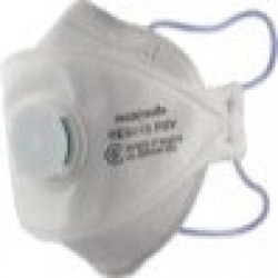 Maxisafe P2 Valved '3-Panel' Flatfold (20pk) - Click for more info