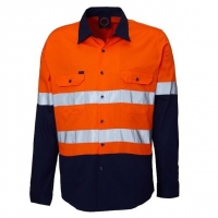 RITEMATE RM208V2R - Long Sleeve Light Weight Vented Drill Shirt - Click for more info