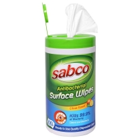 Sabco Antibacterial Surface Cleaning Cloths - Click for more info