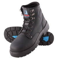 Steel Blue 312102 Argyle black 150mm lace-up safety boot - Click for more info