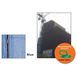 Scaffold Mesh Blue (80gsm) - Click for more info