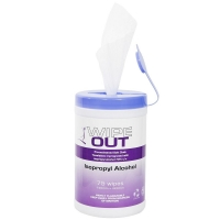 Wipeout Alcohol Wipes 75 Wipes - Click for more info
