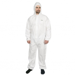 Microporous Anti-Static Disposable Coveralls - Click for more info