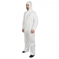 Hi Calibre Type 5 Type 6 Coverall White - Click for more info