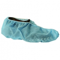 Overshoe Blue Polypropylene Anti Skid - Click for more info