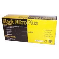 Black Nitro Plus Nitrile Glove 100pk - Click for more info