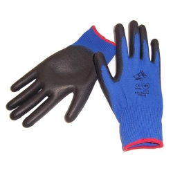 Stealth Blue Healer Glove PU Palm - Click for more info