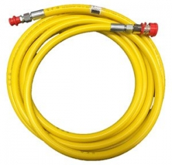 SUNDSTROM 202-06037 - 5m x 10mm yellow PVC w- CEJN couplings - Click for more info
