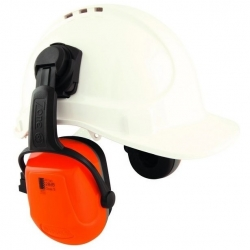Unisafe Zone 2 Cap Attach Earmuff 28dB - Click for more info