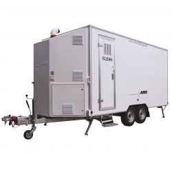 AMS 5 Stage Decontamination Trailer - Click for more info