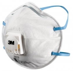 3M 8822 Disposable Respirator 10 Pack - Click for more info